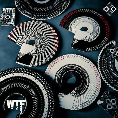Rare Limited Edition WTF Cardistry Playing Cards New MAKE OFFER..