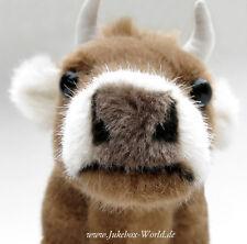 "Kuh (cow) ""Alma"" - Kösener Plüschtier #3330 - naturgetreu und wunderschön!"