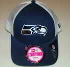 Women's Seattle Seahawks New Era 2015 NFL Draft 9FORTY Adjustable Ladies