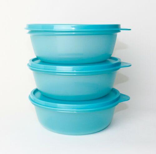 refrigerador Tupperware exitoso favorito 3x 600ml azul claro panorama Clarisse