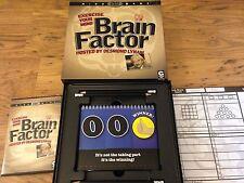 Factor de cerebro ejercicio Tu Mente Interactiva DVD Juego De Mesa alojado des Lynam 2008