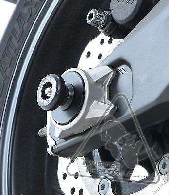 R/&G Rear Axle Sliders Spindle Spools For Yamaha FZ-07 14-17 MT-07 18 /& XSR700 18