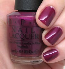 NEW! OPI Nail Polish Vernis I'M IN THE MOON FOR LOVE ~ Plum Shimmer