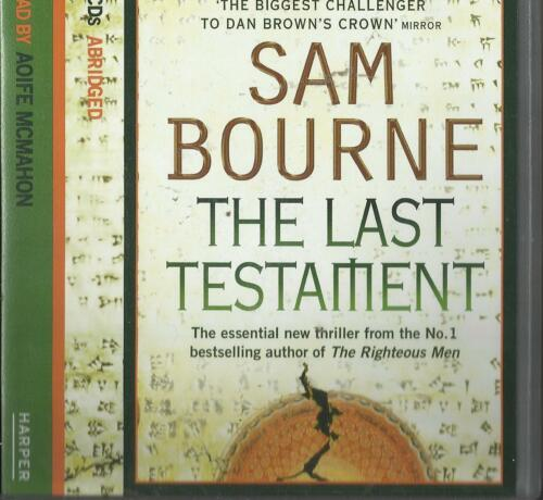 1 of 1 - The Last Testament  by Sam Bourne  Audio Cd  read by Aoife McMahon