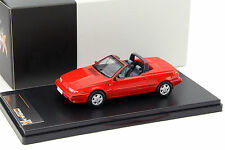 Volvo 480 Cabriolet Baujahr 1990 rot 1:43 Premium X