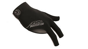 New-Predator-Second-Skin-GREY-Logo-L-XL-One-size-RIGHT-Hand-Pool-Glove