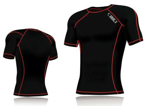 Nouveau Homme Compression Armour Base Layer Top manches mi-longues thermique Gym Sports Shirt