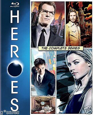 Heroes ~ Complete Series ~ Season 1-4 (1 2 3 & 4) BRAND NEW 18-DISC BLU-RAY SET