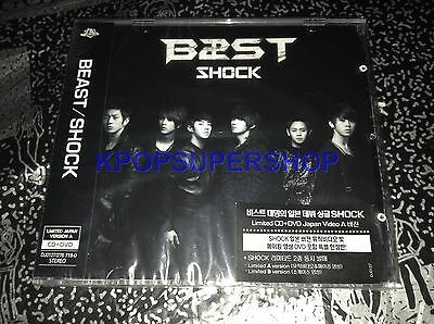 BEAST - SHOCK CD DVD Limited Japan Showcase A Version Korea Version B2ST