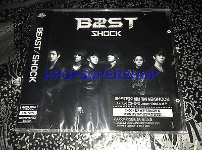BEAST - SHOCK CD DVD Limited Japan Showcase A Version Korea Version B2ST