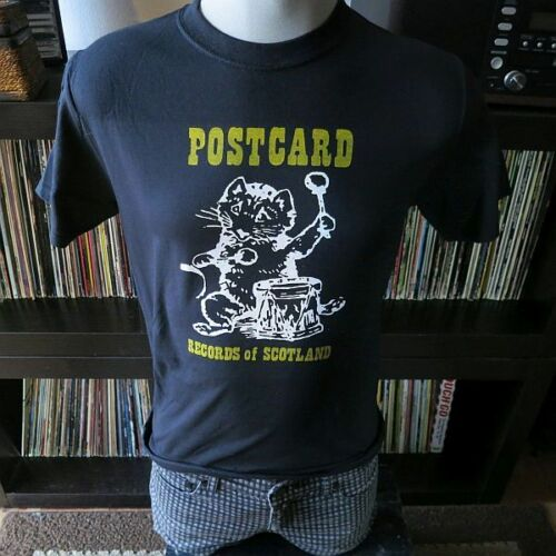 Postcard  Records    t shirt
