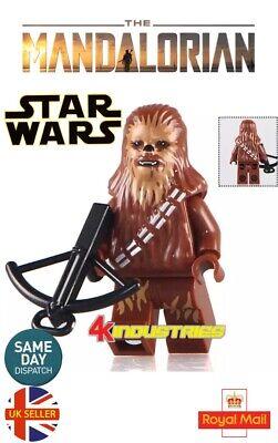 16Pc MINI FIGURES STAR WARS FIT LEGO YODA VADER C-3PO HAN SOLO CHEWBACCA KANOBI