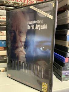 NON HO SONNO di DARIO ARGENTO - Ex Noleggio DVD ITA - Originale Funzionante