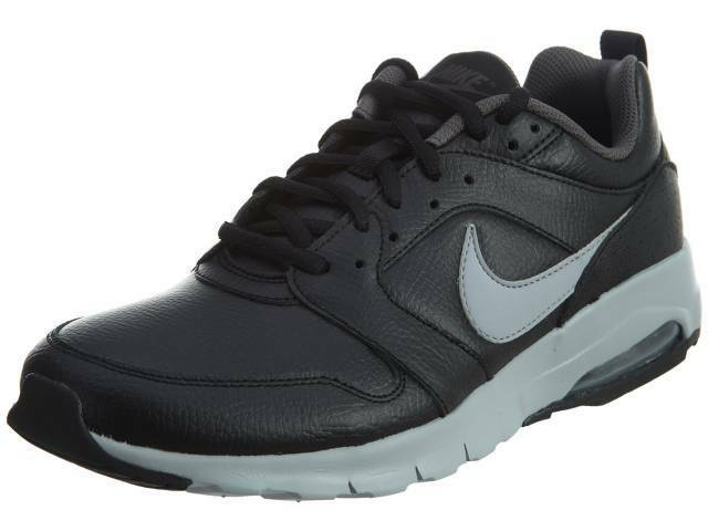 NIKE AIR MAX MOTION LEATHER - 858652 001 - COL. noir /WOLF GREY - TG. 40-45