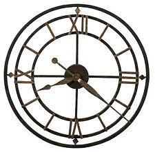 Howard Miller York Station 625-299 wrought iron skeleton clock 625299