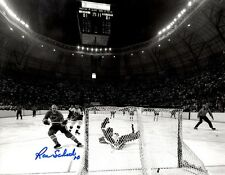 Signed  8x10 RON SCHOCK St Louis Blues Photo - COA