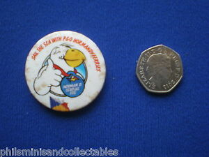P-amp-O-Ferries-039-Norma-D-Seagull-039-Pin-Badge-1980s