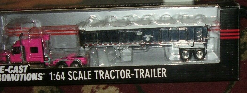 DCP 1 64 SCALE INTERNATIONAL LONESTAR PINK- CHROME FRONT FENDERS  30874
