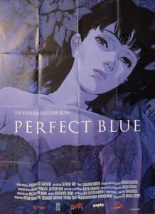 Perfect Blue Satoshi Kon Manga Reissue Large French Movie Poster Ebay