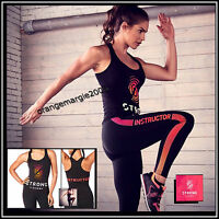 Zumba Strong Instructor Racerback Tank Tee - Orlando Convention Elitezwear S M L