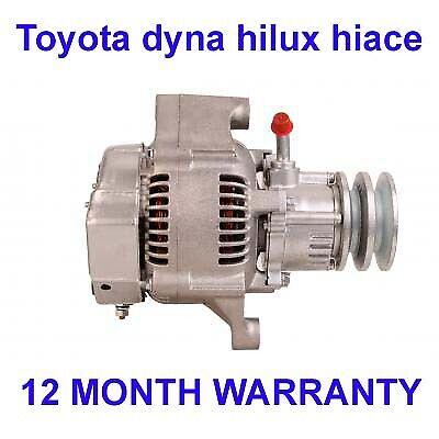Toyota dyna hilux hiace 2.4 3.0 1995 1996-2006 alternator with vac pump