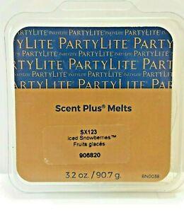 Partylite Iced Snowberries Scent Plus Melts 9 pc NIB
