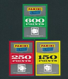 Panini Rewards Point 600 250 150 Total 1,000 Points ...