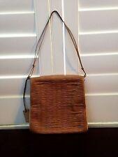 "GUCCI Beige Pink Clutch Handbag 9"" x 8.25"""