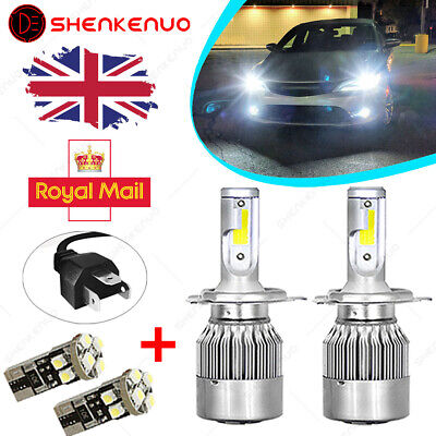 H4//HB2//9003 LED Headlight Bulb High//Low Beam 6000K 55W C6 For Ford Transit MK6