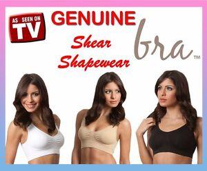 3x-GENUINE-Shear-Shapewear-Seamless-Sports-functional-comfort-bra-ahh-so-comfy
