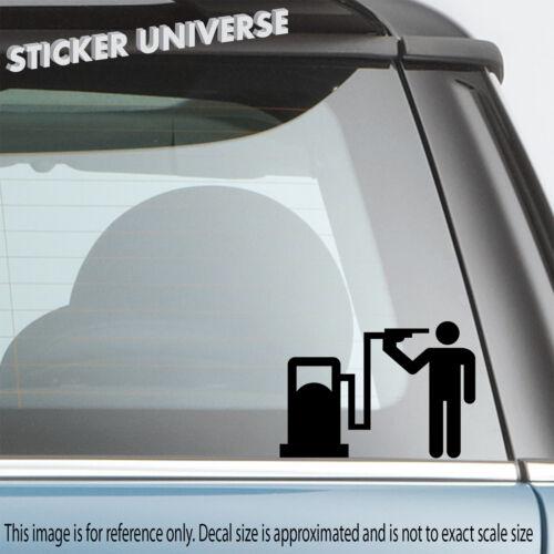 Gas Head Suicide Funny Car Window Decal Bumper Sticker JDM Street Racing 0683