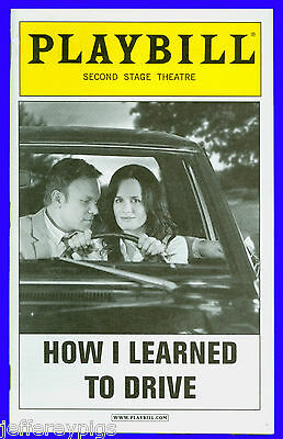 Playbill + How I Learned to Drive + Norbert Leo Butz , Elizabeth Reaser