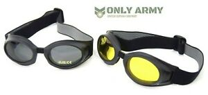 Slim-Line-UVEX-Tactical-Goggles-Sniper-Glasses-Shooting-Hunting-Driving-Airsoft
