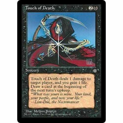 MTG ICE AGE Touch of Death