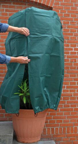 ***3er Set*** Pflanzenschutz-Vlieshaube 80 x 60 cm mit Reißverschluss u. Zugband