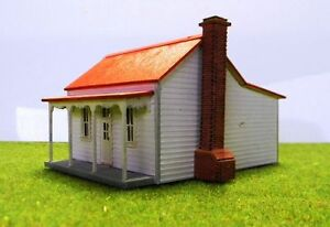 Victorian miners cottage workers house laser cut wood kit Victorian cottages kit homes