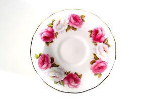 1-Unterteller-Princess-Roses-Rosen-England-Bone-China-Queen-Anne-Goldrand-8605