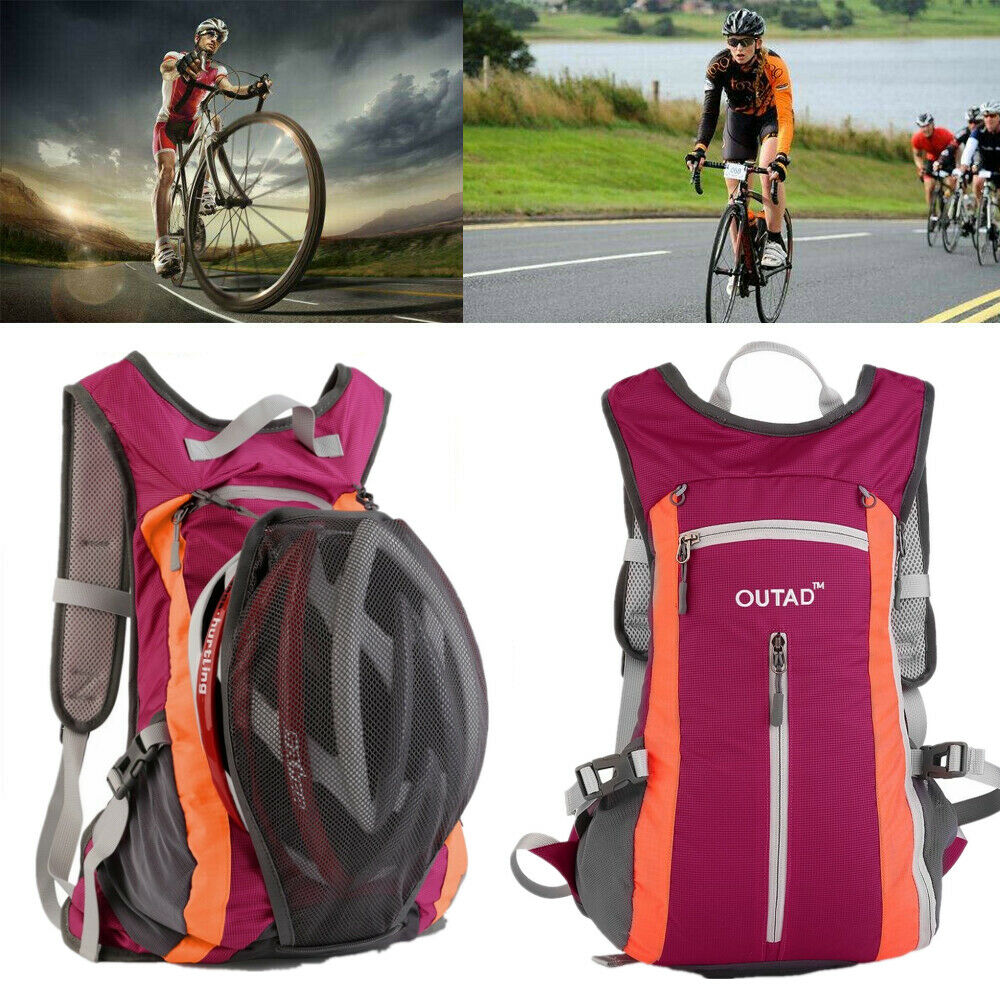 Details about  /Blue Ultralight Foldable Sports Backpack for Travel Hiking Camping Cycling