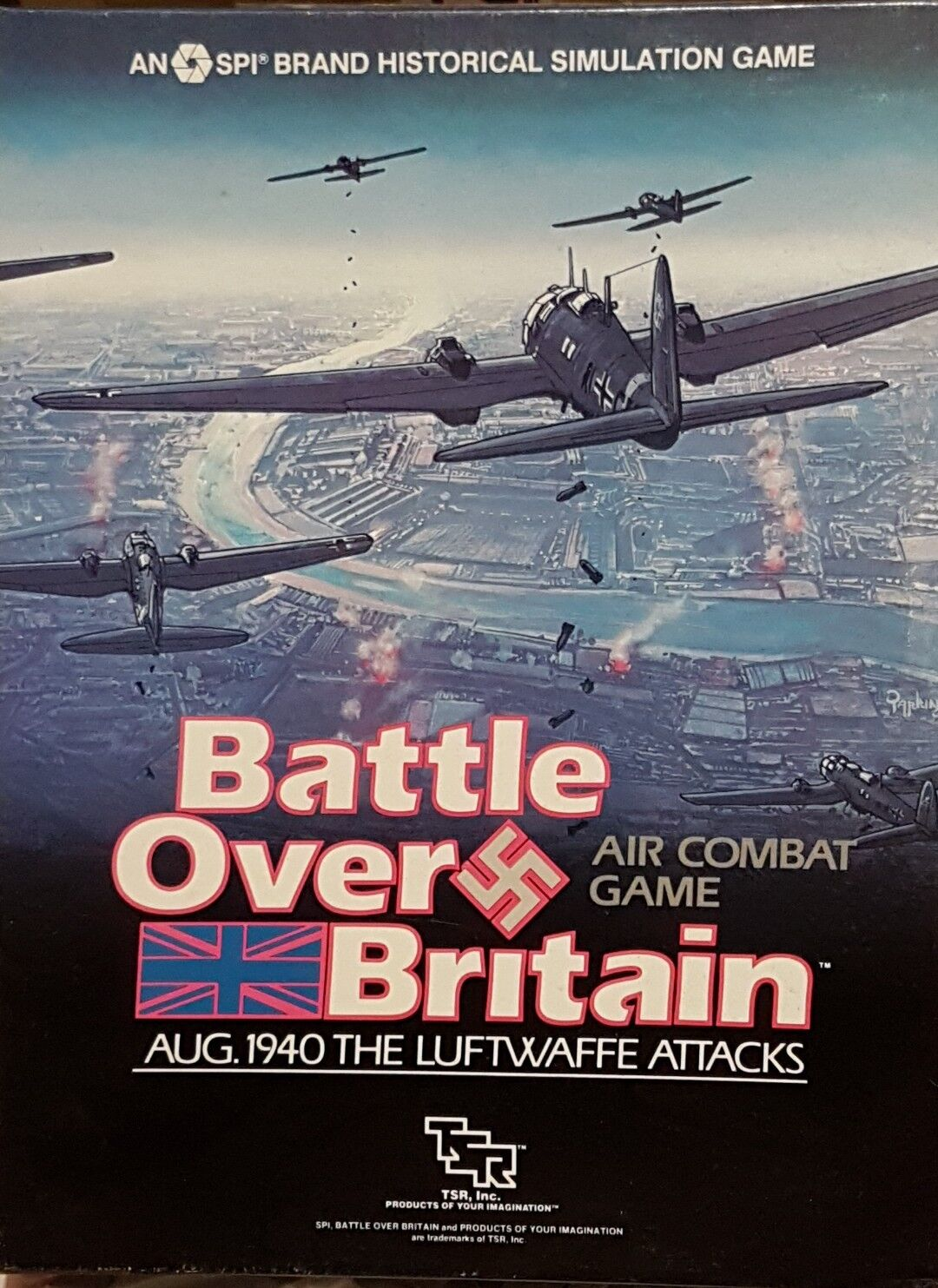 BATTLE OF BRITAIN SPI TSR Wargame - unpunched - ENGLISH