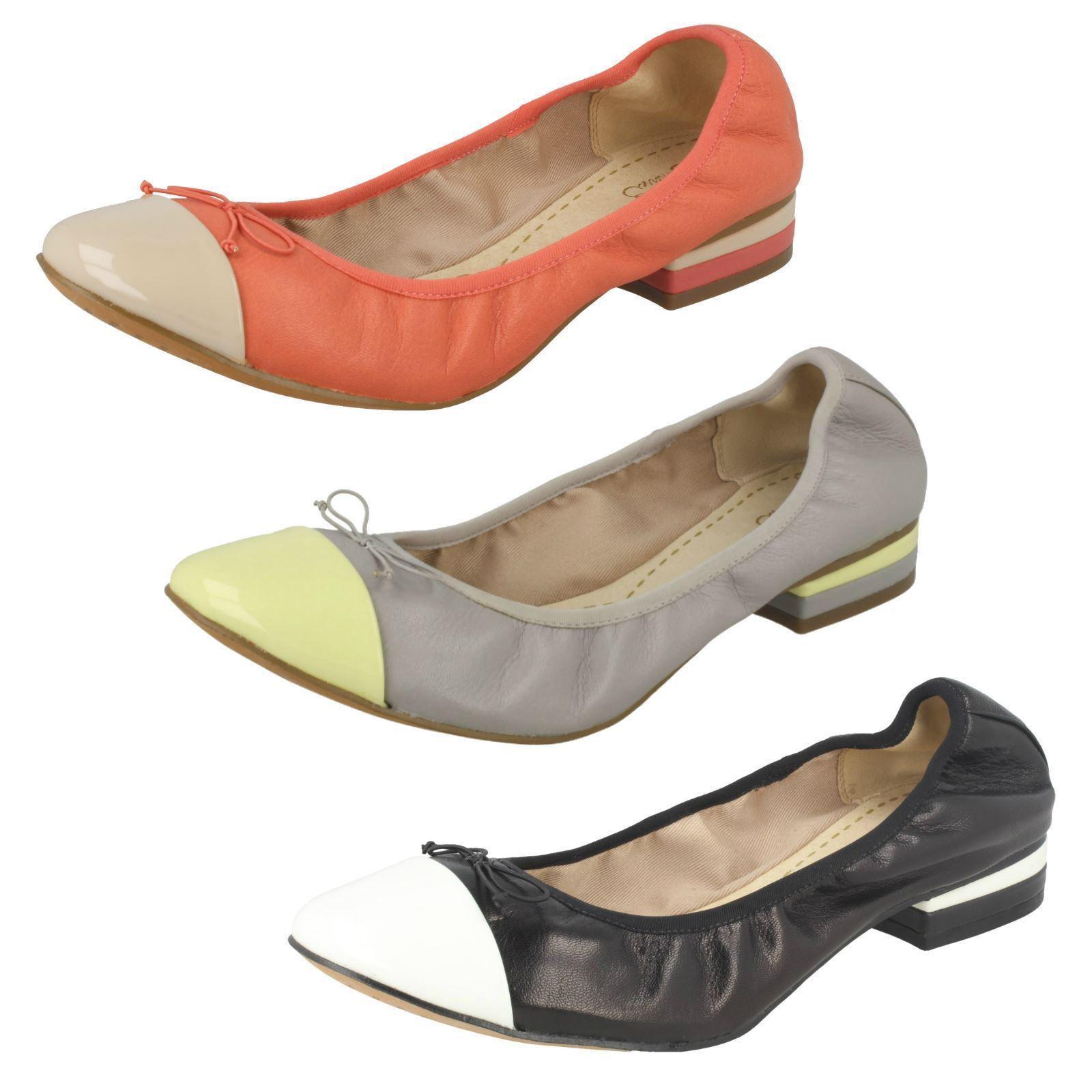 Clarks Zapatos Ditsy Vestido Damas Damas Damas informal Dolly  compra limitada
