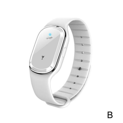 1X Ultrasonic Anti Mosquito Insect Bugs Repellent Repeller Wrist Bracelet Band