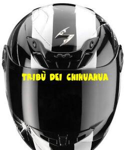 Sticker Visiere Tribu Dei Chihuahua Valentino Rossi Moto Casque