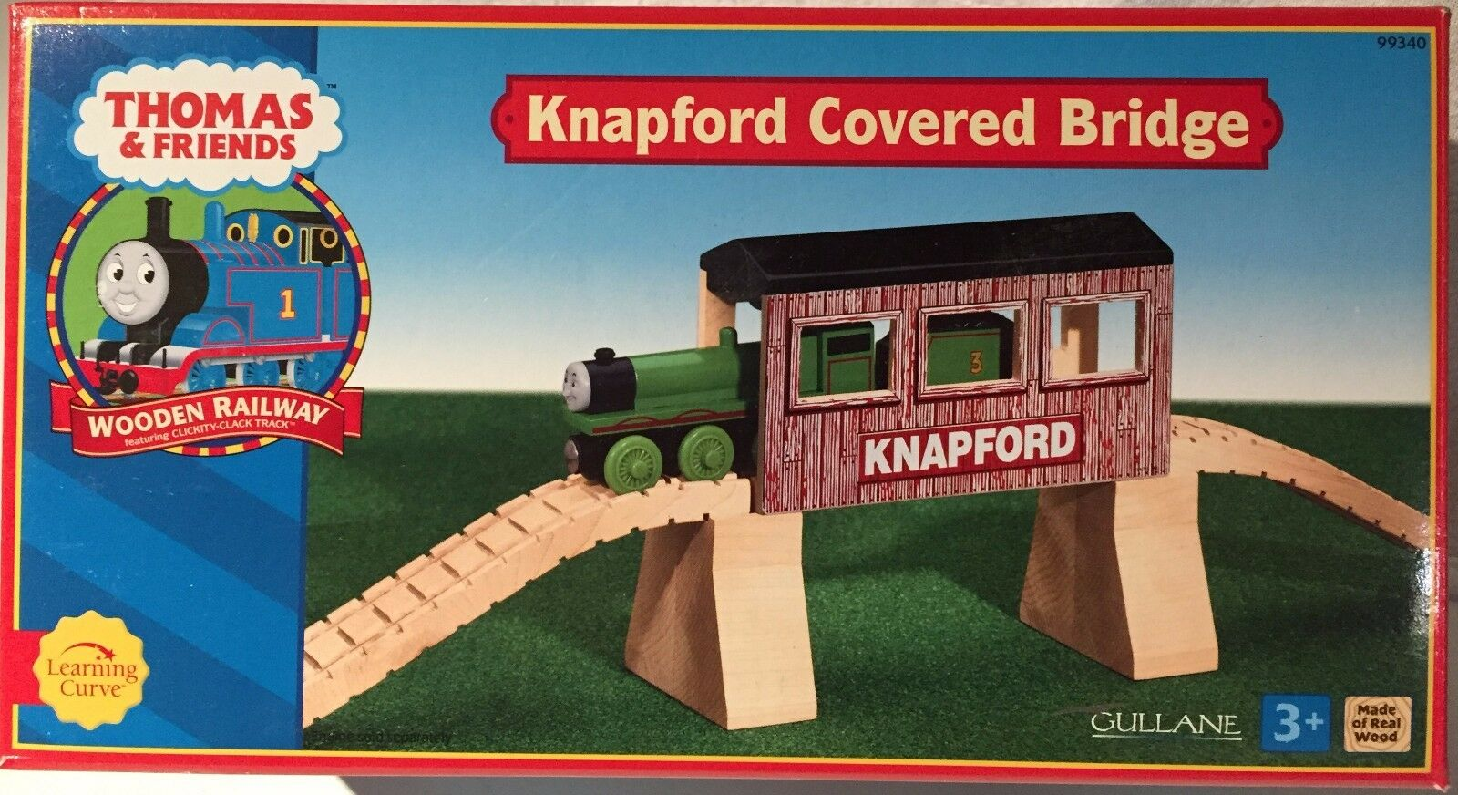 Thomas Thomas Thomas & Friends Knapford Covered Bridge, new, never opened 99340 904e14