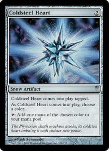 MTG Coldsnap Coldsteel Heart X1 NM