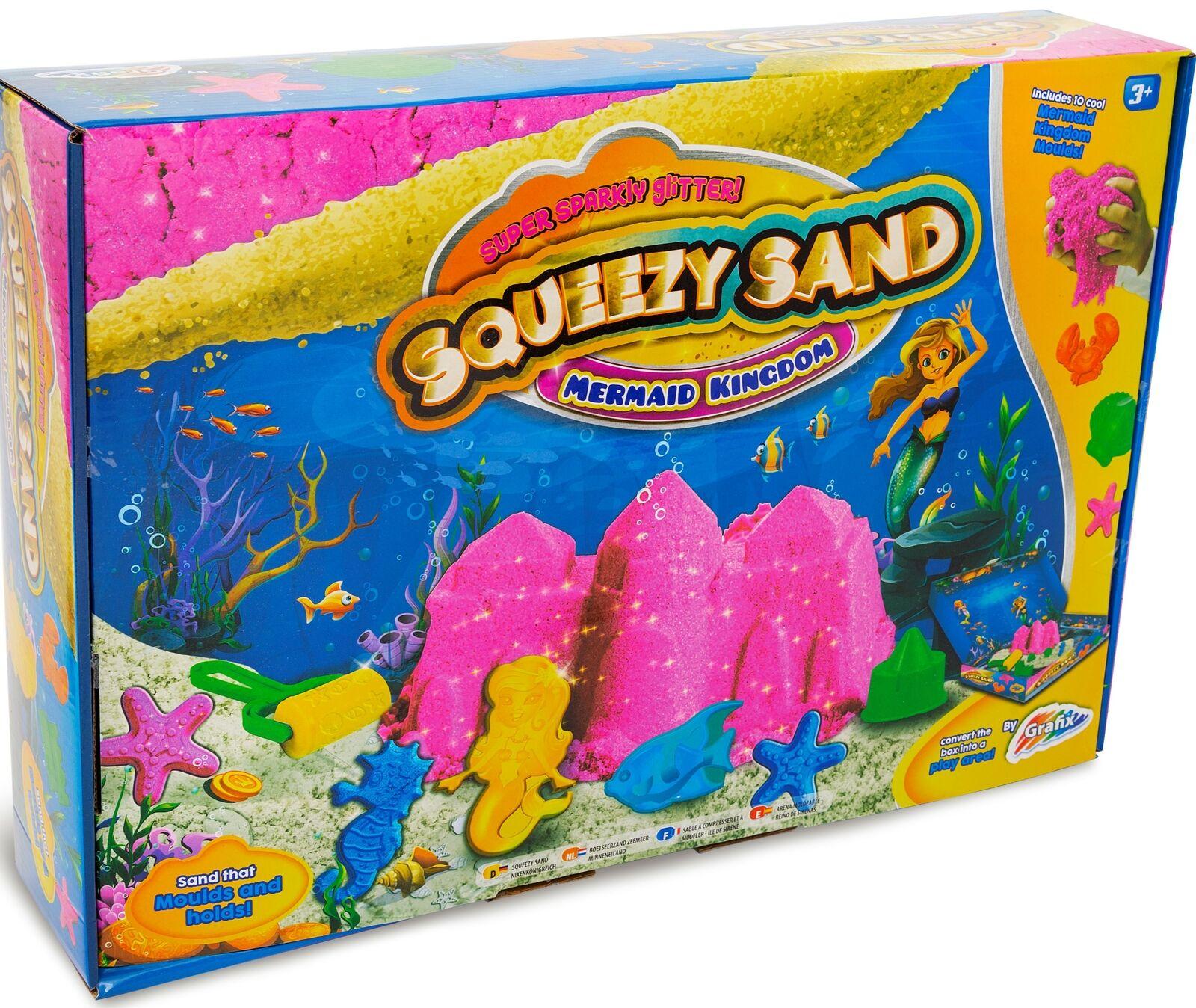 Grafix Squeezy Sand Mermaid Modelling Set