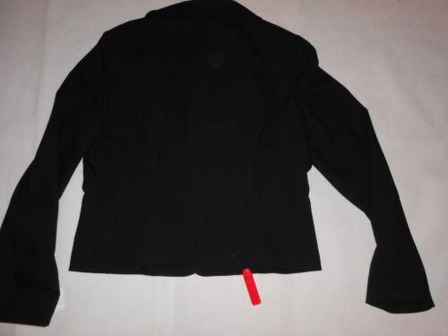 Black New Blazer Wool Uk16 It428 Rrp Valentino wg0tq81