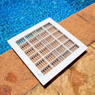 12 inch and 9 inch swimming pool hydathode square swimming pool main drain  | eBay