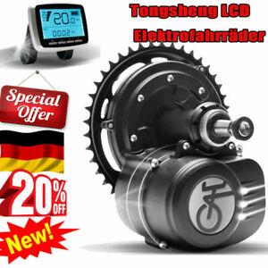 Tongsheng 36V 250W VLCD5 25km//h Mittlerer Motor Ebike Antriebsmotor E-Fahrrad DE
