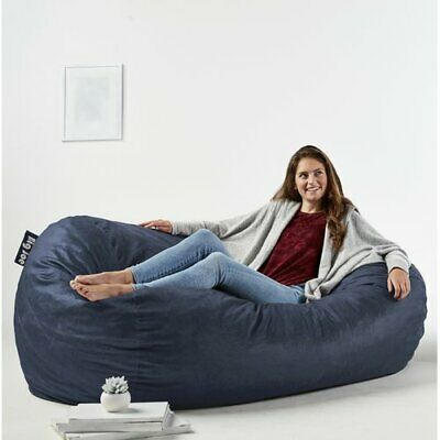 Awesome Over Sized Extra Large Media Bean Bag Sofa Seat Gaming Lounger Chair Adult Kids Ebay Unemploymentrelief Wooden Chair Designs For Living Room Unemploymentrelieforg