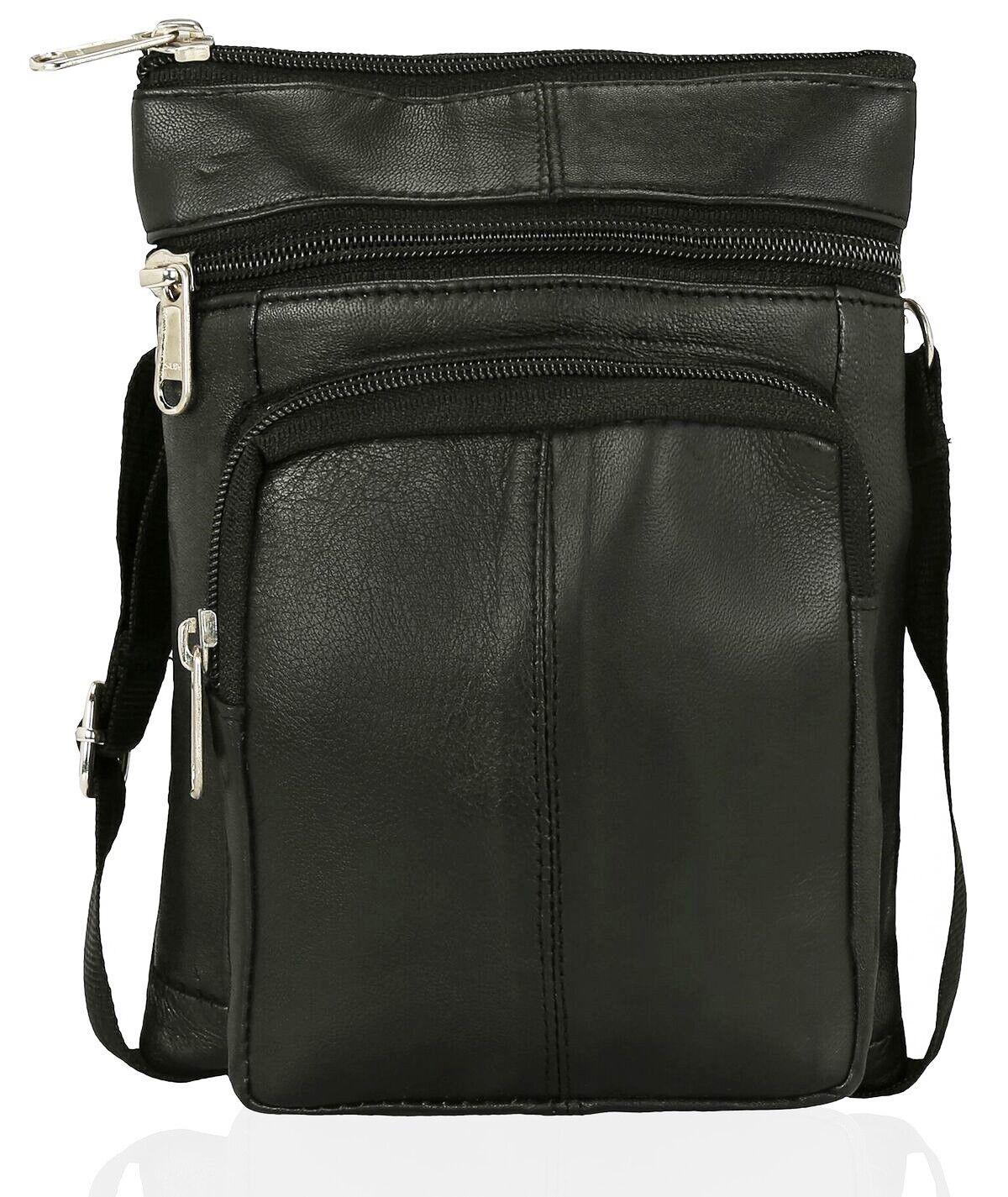 Travel Leather Tote Cross Body Bum Bag money money Bag pack Holiday Festival MONEY Pochette 3e9436